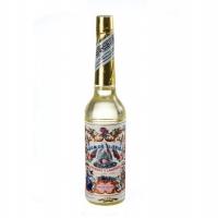 Een flesje Florida water (Agua de Florida, een vinding uit Peru). Heeft een specifieke fris-bloemige geur.