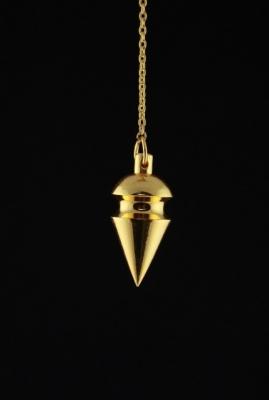 Pendel goudverguld 14 gram