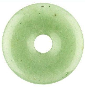 Edelsteen donut van Aventurijn