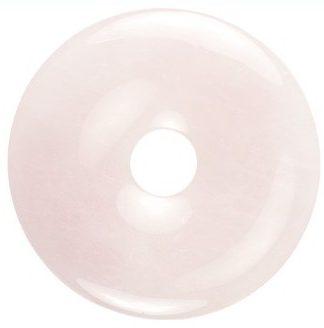 Edelsteen donut van Rozekwarts