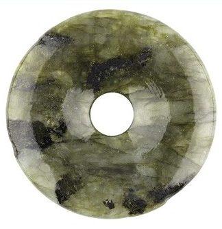 Edelsteen donut van Labradoriet