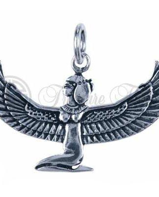 Sterling zilveren hanger in de vorm van de Godin Isis